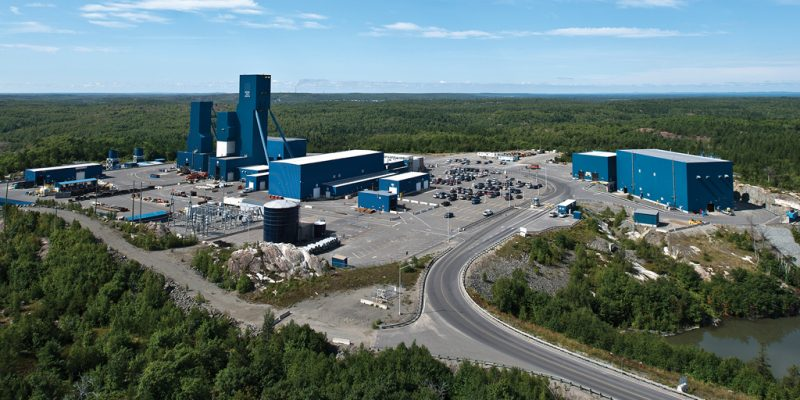 Glencore Nickel Rim South, Sudbury